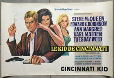 Anonymous - Le Kid de Cincinnati / The Cincinnati Kid (Steve McQueen) - 1964