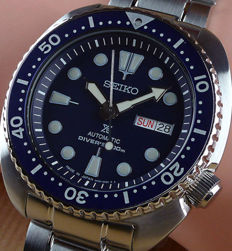 "Seiko — Automatic Diver's 200m ""Turtle"" Made in Japan — Men's - New Automatic Men's watch"