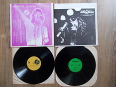 The Rolling Stones Lot Of 2 Lp : Rehearsal Sessions 72 Tour And Live In Germany 1976 , Unofficial Release