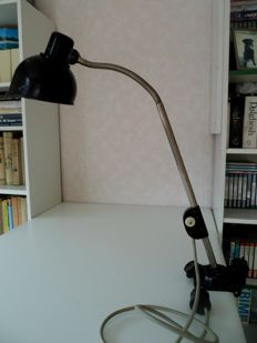 """Helion Arnstadt""  - workshop/office/ desk lamp, around 1930/1935"
