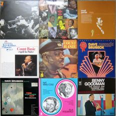 Lot of 9 Jazz Albums (2 double LP's)