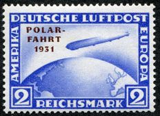 Germany 1931 - Airmail Zeppelin, Polar Flight, Michel 457