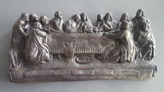 Last Supper made of plaster - 20th century