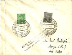Poland - Pre WWII Balloon flown covers