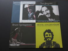 Bruce Springsteen: Great lot of 4 limited LP's by The Boss!