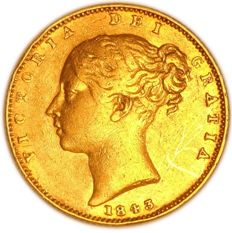 United Kingdom - Sovereign 1843 Victoria - gold