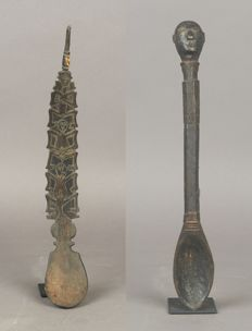 Lot of 2 Spoons - Timor - Indonesia