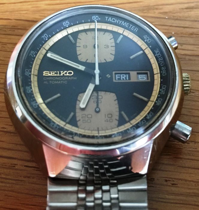 Seiko 6138-8030 Automatic Chronograph - Men's wristwatch - 1970s