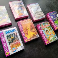 7 games for the SEGA Game Gear - Brand new / Sealed.