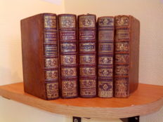 Lot of 5 books on religious conferences - 1748/1765