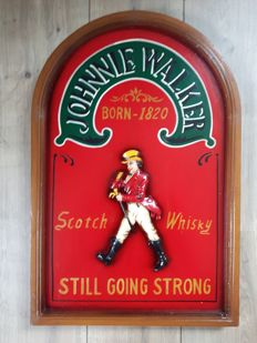 Nice Johnnie Walker Whisky café/pub sign