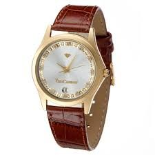 Yves Camani Golden Twinkle - Ladies Watch - Zirconia Crystal NEW