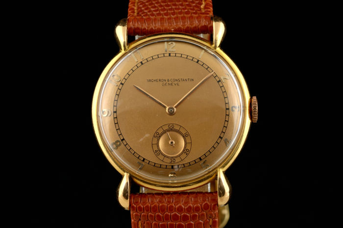 Rare Vacheron & Constantin 18k gold from 30-ties - cal 203