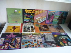 Back to the FIFTIES and SIXTIES. Big Sampler lot with many groups /artists from that era. Many music styles are present ,14 albums in total