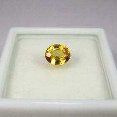 Yellow Sapphire - 0.99 ct - No Reserve
