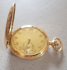 10 Fine Civitas (Moeris) Switzerland - double casing pocket watch - circa 1900