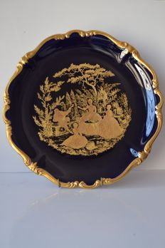 Rosenthal - Porcelain plate - painted in gold