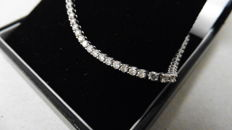 18k Gold Diamond Tennis Bracelet - 2.50ct