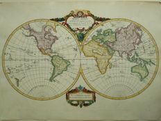 World; Robert de Vaugondy / F. Delamarche. - Mappe-Monde - 1786