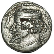 Parthia - Phraatakes 2 BC-AD 4 AR Tetradrachm with Nike flying, Seleukeia on the Tigris