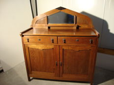 Oak Art Deco sideboard