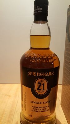 Springbank 21 years old - single cask for NL - OB
