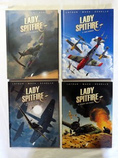 Lady Spitfire 1 t/m 4 - complete serie - hc (2014/2017)