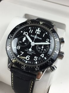 Bell & Ross Pilot Chronograph Automatic ref:  520S – men's watch