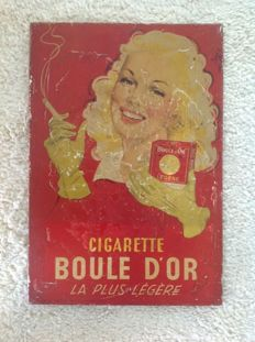 Cigarette BOULE D'OR - 1949