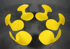 Ross Lovegrove voor Bernhardt Design - Set van 6 'Orbit' Dinner Chairs
