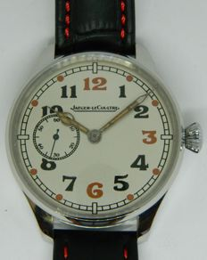 Jaeger-LeCoultre - military marriage watch - ca 1910