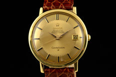 Omega Constellation 18k gold Piepan dial 1965