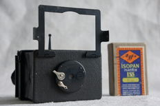 ERNEMANN liliput camera for plates or film pack 4.5 x 6