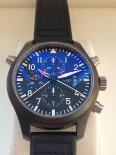 IWC - Pilot Top Gun Double Chronograph Ceramic - IW379901 - Hombre - 2008