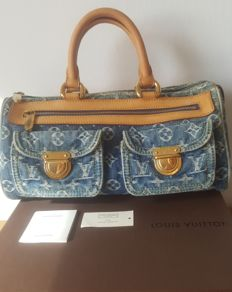 d699702a58c Louis Vuitton - Blue Denim Monogram Denim Neo Speedy bag