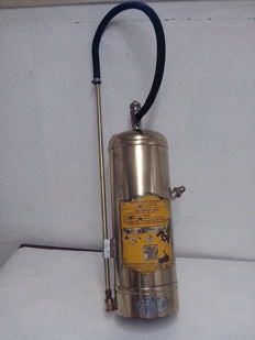 Fire extinguisher with water for office or interior, 1950s