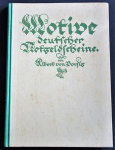 Germany - Motive Deutscher Notgeldscheine by Albert von Borsig-Widder - published Berlin 1923
