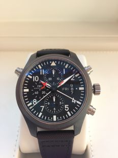 IWC - Pilot Top Gun Double Chronograph Ceramic - IW379901 - Masculin - 2008