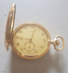 12.  Zenith - double casing pocket watch - manufacturer work - Switzerland circa 1900