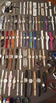 Collection of 100 watches of: Monul/Pengfan/Fcr, etc
