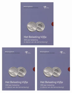 Netherlands – 5 Euro 2006, 200 year anniversary Belastingdienst (tax authorities), special issue.