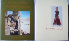Lot with 2 books about cultures in the mountain region of South and Southeast Asia.