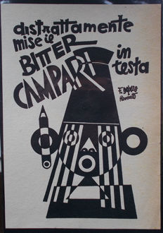 Fortunato Depero - Advertising leaflet for Bitter Campari