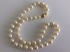 9,5 mm Fresh-water Pearl necklace
