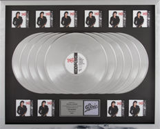 Michael Jackson - Bad 10x Platinum Epic Records In-house Award