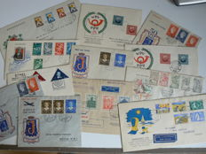 The Netherlands 1936/1949 – Selection FDC predecessors and special covers