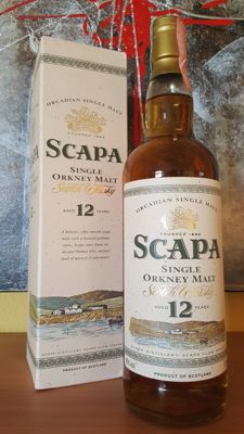 Scapa 12 years old - distillery bottling from the 1990's
