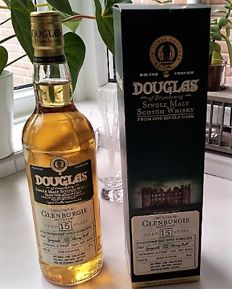 Glenburgie  15 years old 1998 Douglas of Drumlanrig cask ref 10198