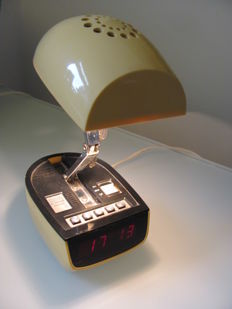 Unknown designer - adjustable lamp and alarm clock