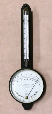 Lambrecht's Polymeter - hygrometer-thermometer - Switzerland - beginning of XX century